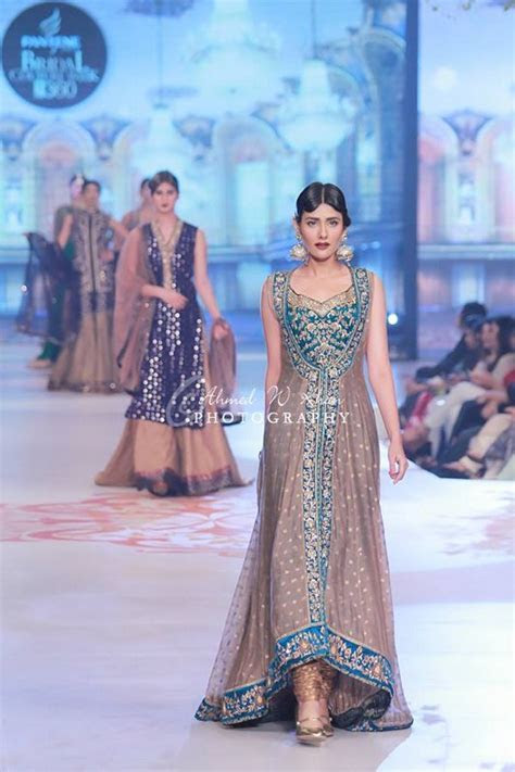 Zaheer Abbas Collection At Pantene Bridal Couture Week