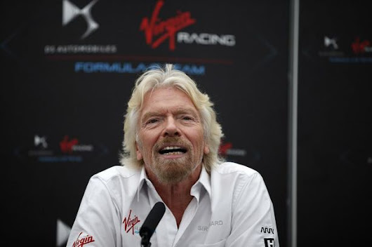 Branson: all-electric Formula E to eclipse F1 by 2020