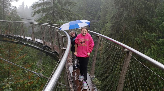 Visiting Capilano Suspension Bridge Park with Kids: Tips, Advice and Video Tour - HotMamaTravel