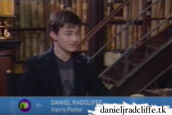Daniel Radcliffe on Newsround