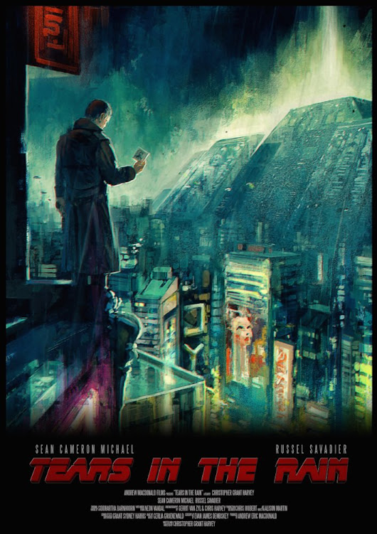 A Blade Runner homage is included in our jam-packed March 2017 Sci-Fi Newsletter!