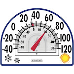 Springfield 91157 - Four Season Window Cling Thermometer