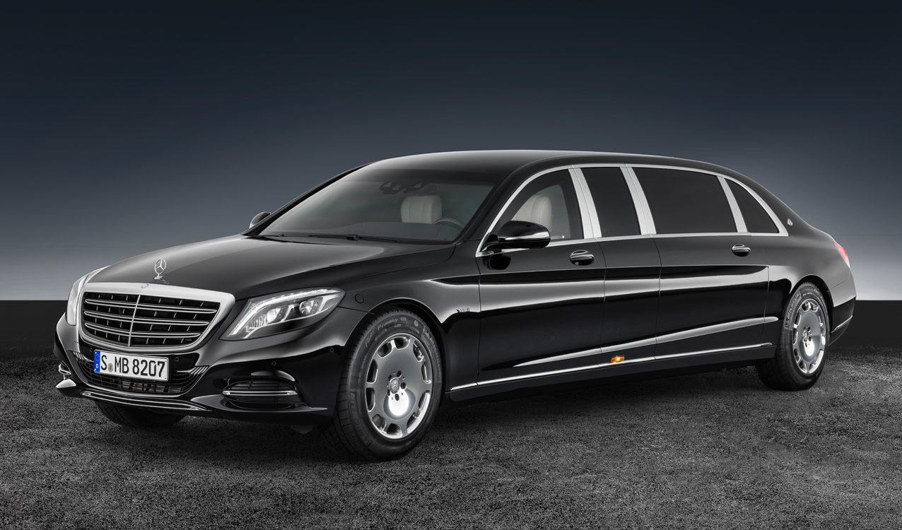 Revealed: 2017 Mercedes-Maybach S 600 Pullman Guard