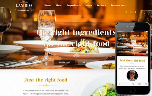 Lambda a Food Category Flat Bootstrap Responsive web template