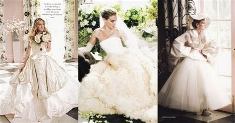 Hot Dresses For You: Carrie's dream wedding dress in Sex