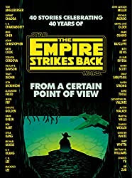 Cover art. A sillhoutte of Yoda is seen from behind watching over the Dagobah swamp, surrounded by the names of contributing authors.