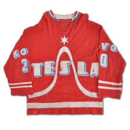 Tesla Pardubice 75-76 jersey