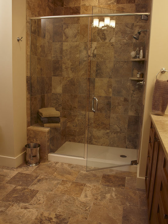 Shower Pan Tile Design Ideas, Pictures, Remodel and Decor ...