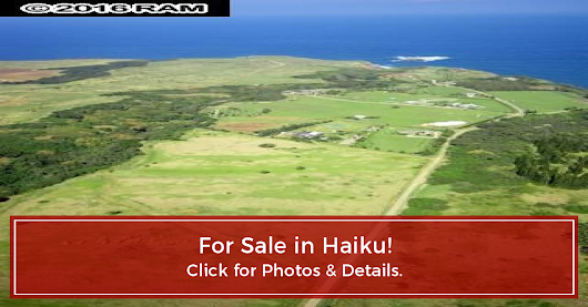 FOR SALE! Manawai, Haiku, HI - presented by Steven Nickens