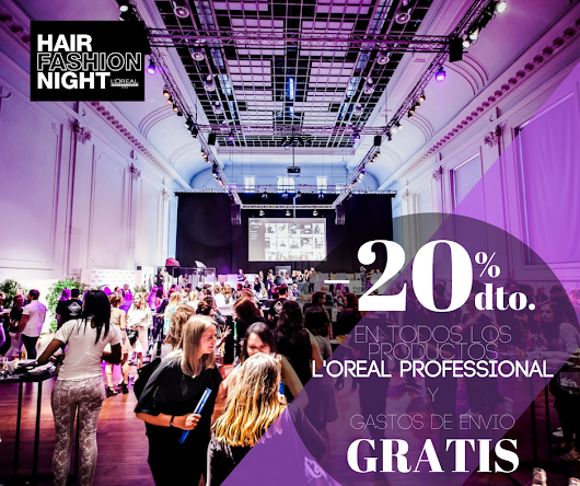 LLEGA LA L'OREAL FASHION NIGHT
