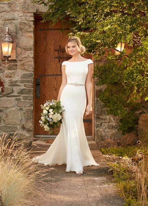 Winter Wedding Dresses   Essense of Australia Designer