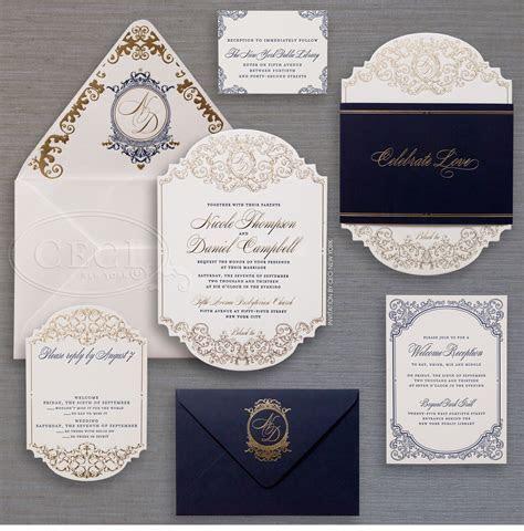 Luxury Wedding Invitations by Ceci New York