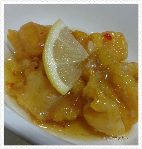 aimzf ikan dori sos lemon