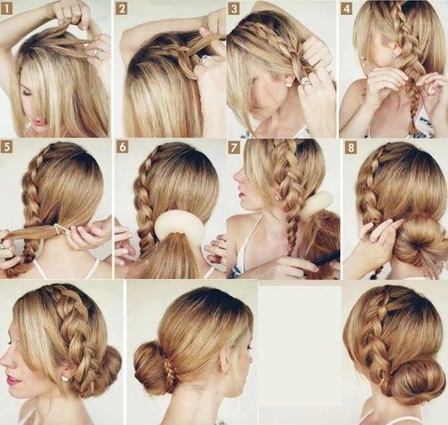 Schöne Frisuren Mit Anleitung Zum Selbermachen
