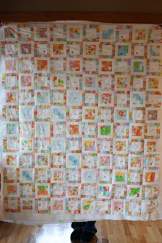 Dream On baby quilt