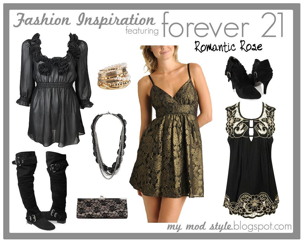 Fashion Inspiration - Forever 21 - Jan 2010