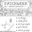 Patchwork Planner Club - | Quilt Corner International