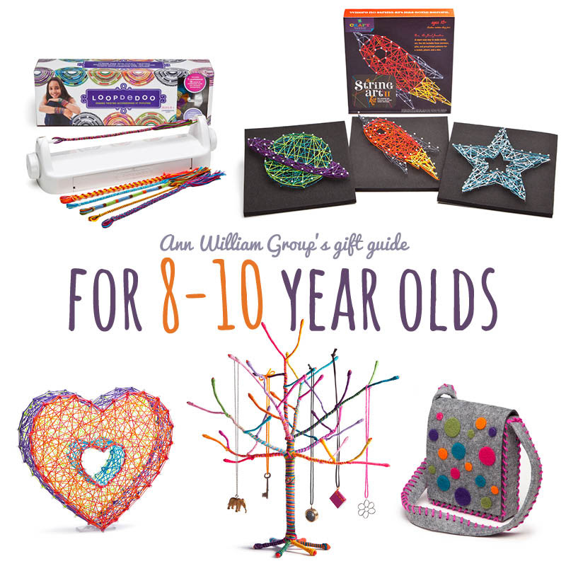 Crafty gift ideas for the 8 to 10 year old on your list - Ann Williams Group