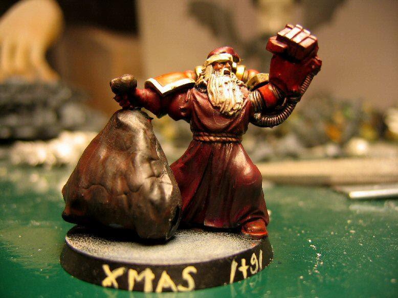 Christmas, Conversion, Humor, Santa Claus, Space Marines, Warhammer 40,000