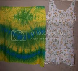 Tie dye dress copy