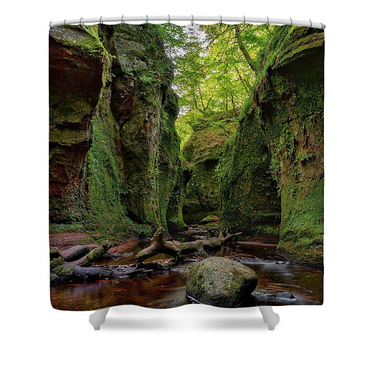 Jeremy Lavender Photography sold a Shower Curtain on FineArtAmerica.com!