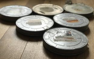New Order - Round and Round - original film reels
