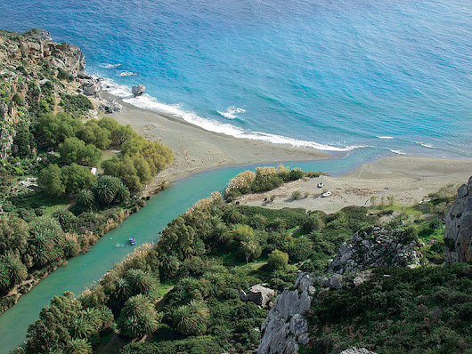 Preveli Beach in Crete - Cretico Blog