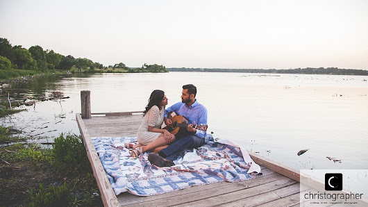 SMU & White Rock Lake Engagement Session | Blessy & Alex