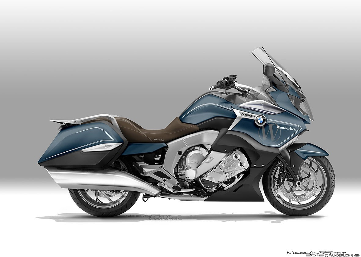 K1600GTL Bagger by Nicolas Petit Is a Dream BMW - autoevolution