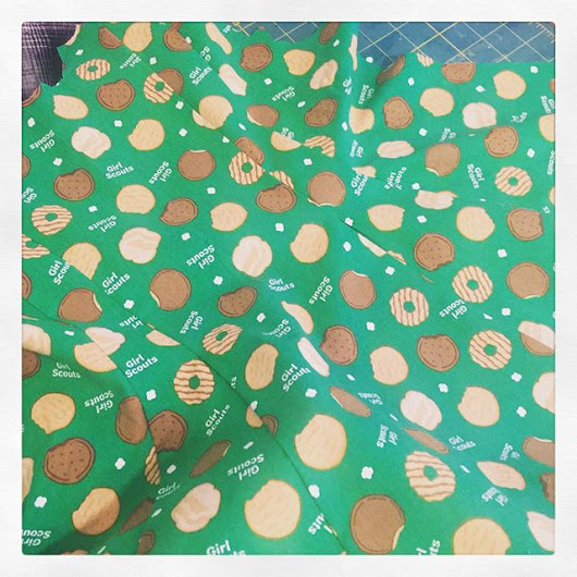 #cookie dress #girlscouts