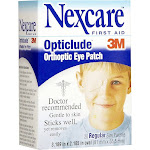 Nexcare Opticlude Orthoptic Eye Patches, 1539, Regular, 3.18 in x 2.18 in, 20 ct.