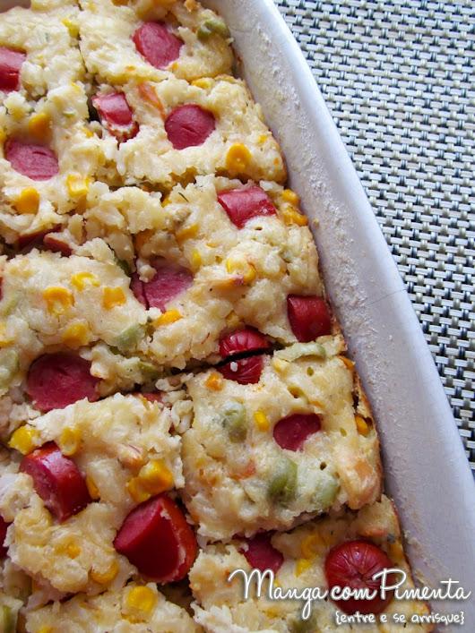 Torta de Arroz com Salsicha Para ver a postagem, clique no link ou na imagem...