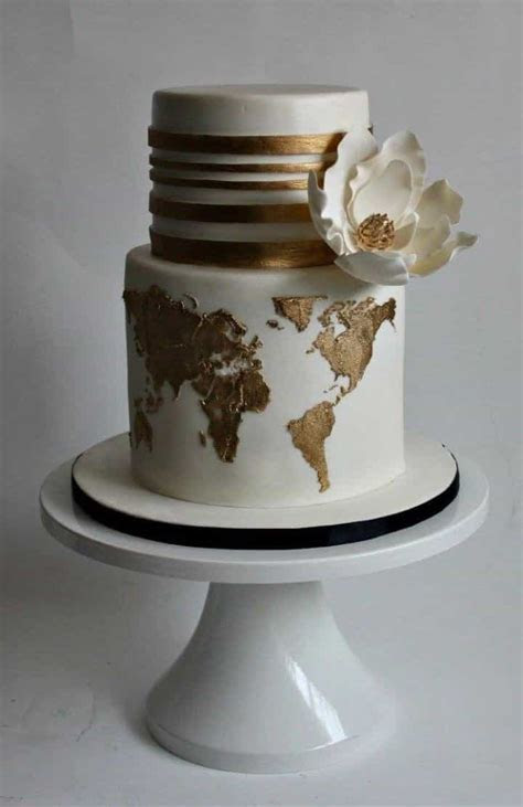 10 Modern Mixed Pattern Wedding Cakes #19513   Wedding Ideas