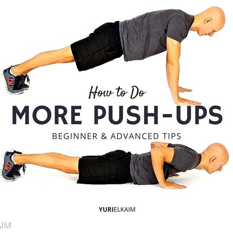 push ups  training plan yuri elkaim