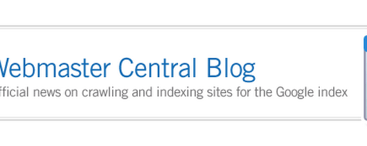 Official Google Webmaster Central Blog: Understanding web pages better