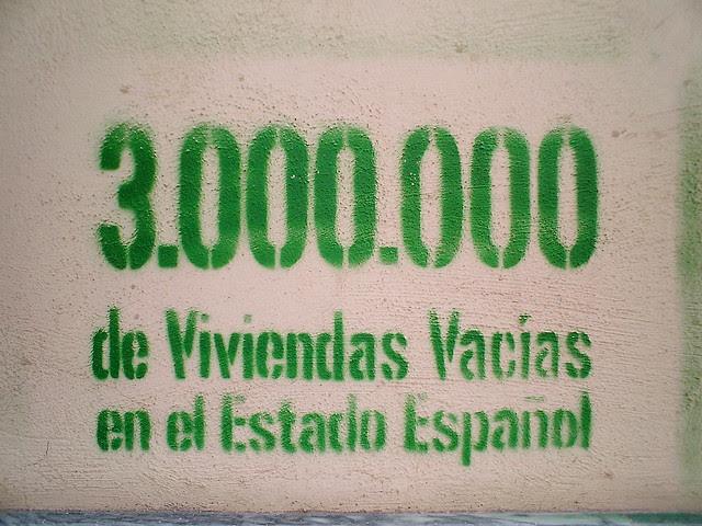 3.000.000 de viviendas vacías