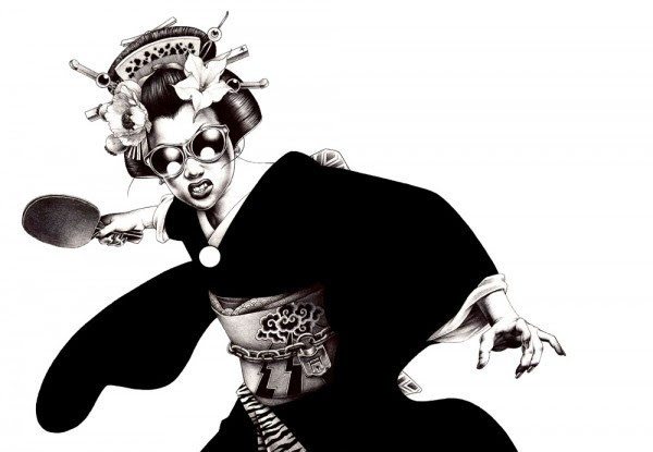 Японский <br />художник Шохей Омото (Shohei Otomo)