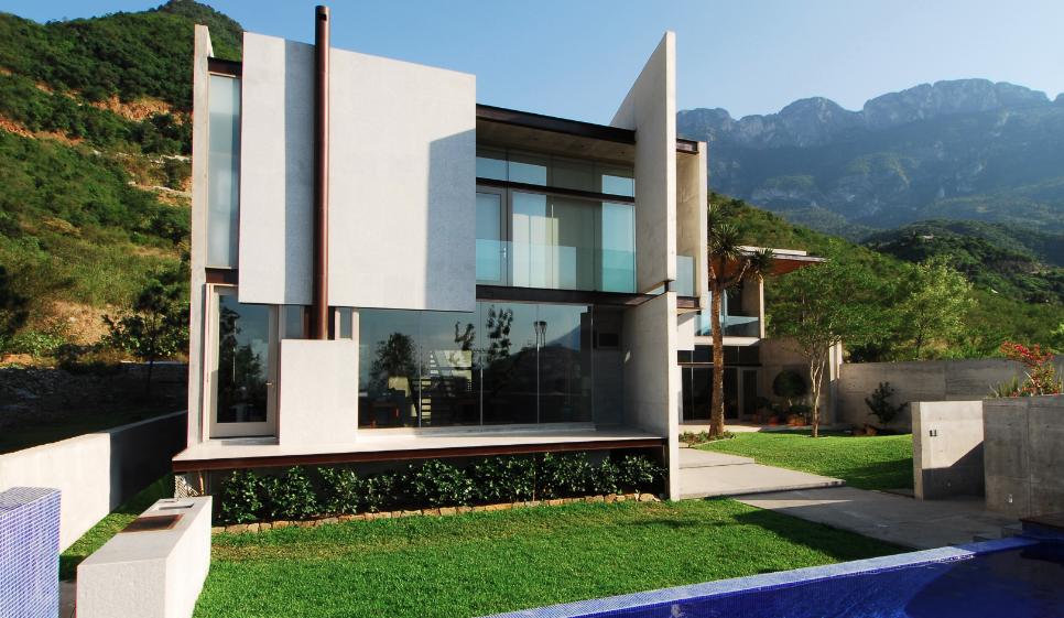 Casa bravo agust n landa ruiloba rolando mart nez for Casas modernas futuristas