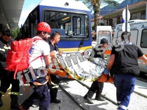 Έπεσε από ύψος 25 μέτρων και σώθηκε! Ατύχημα στο φαράγγι του Βουραϊκού (ΦΩΤΟ)