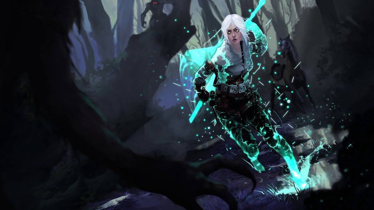 The Witcher 3 Ciri High Definition Wallpaper 49168 Baltana