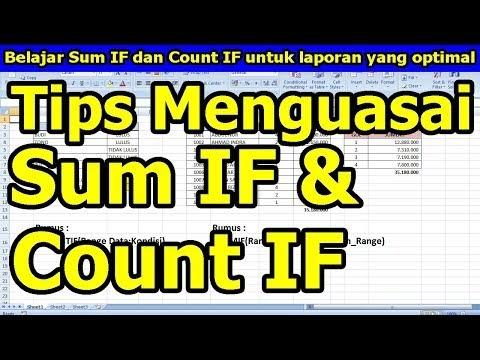 Fungsi Sumif dan Countif