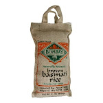 Bombay, Rice Basmati Brown - 2 Lb - PACK OF 12