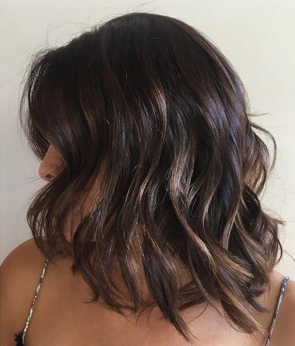 Strähnen Frisuren Dunkle Haare Yskgjtcom