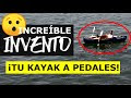 INVENTO para KAYAK | Propulsión a pedales para cualquier kayak