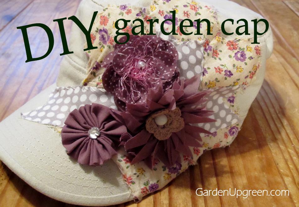 DIY Garden Cap 1