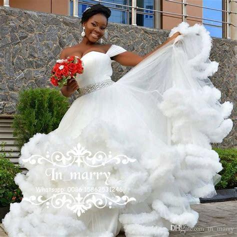 Bellanaija Nigeria African Wedding Dresses 2017 Ball Gown