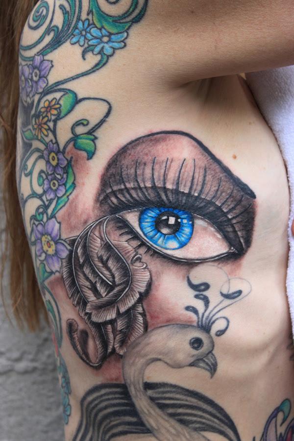 30 Eye Tattoo Designs You Can Follow - The Xerxes
