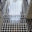 Victorian Tiled Hallway Repaired and Cleaned in Prestbury