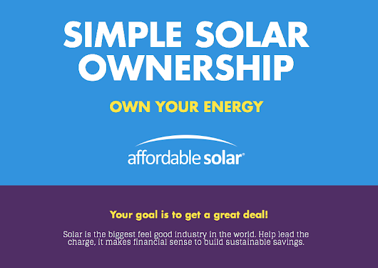 Simple Solar Ownership