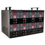 Schumacher Electric DSR127 12/8/2 Amp Digital 8 Bank Charging Station